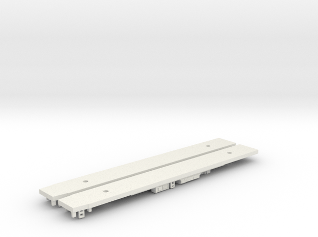 NXC1 - Xtrapolis Chassis Set - N Scale in White Natural Versatile Plastic