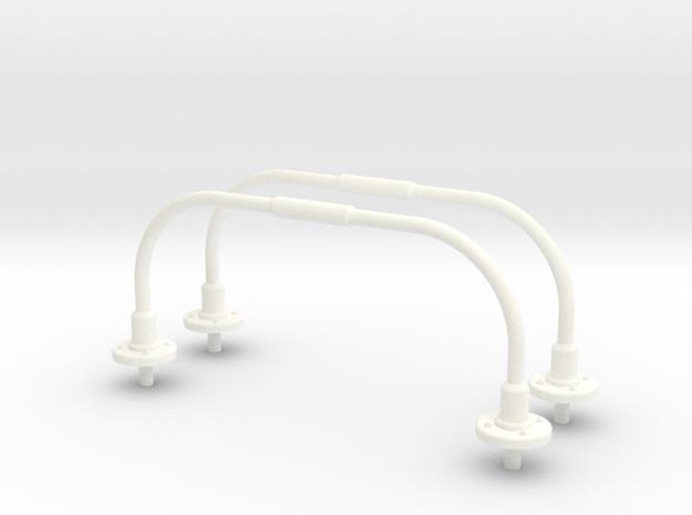 1.10 ANTENNE U SUPER PUMA in White Processed Versatile Plastic