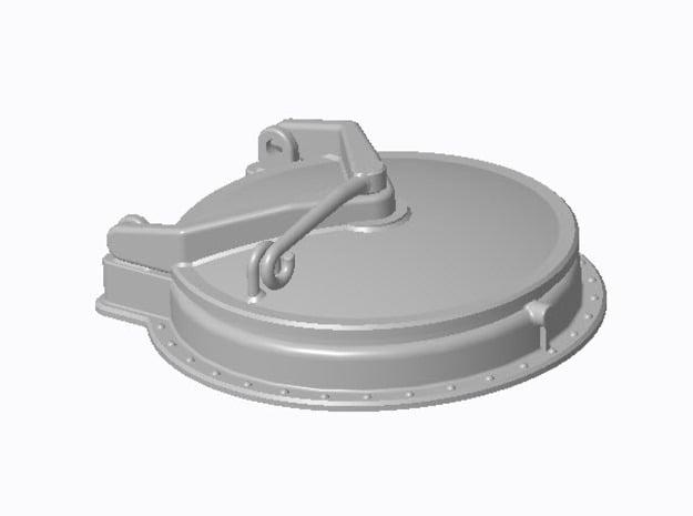 Mannloch Typ-A in 1:40 (6 Stück) in Smooth Fine Detail Plastic