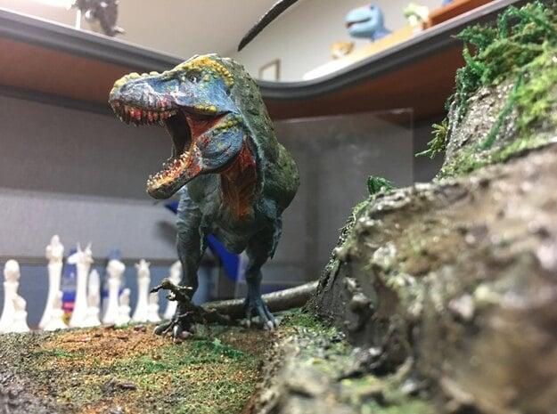 Feathered Tyrannosaurus for stevedexter in White Natural Versatile Plastic