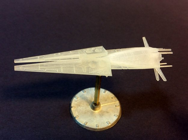 Galactic Scout Ship, New Albion in Smooth Fine Detail Plastic