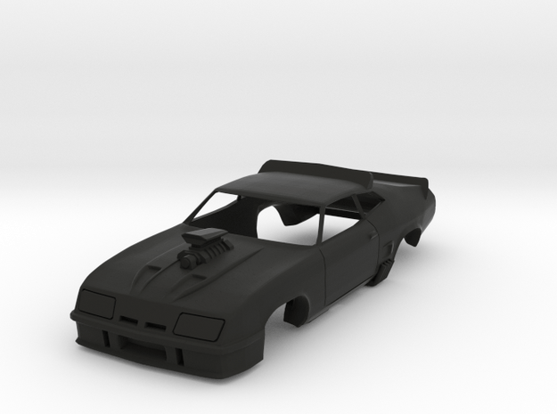 MFP Interceptor, HO Scale 1/64 Slot Car Body
