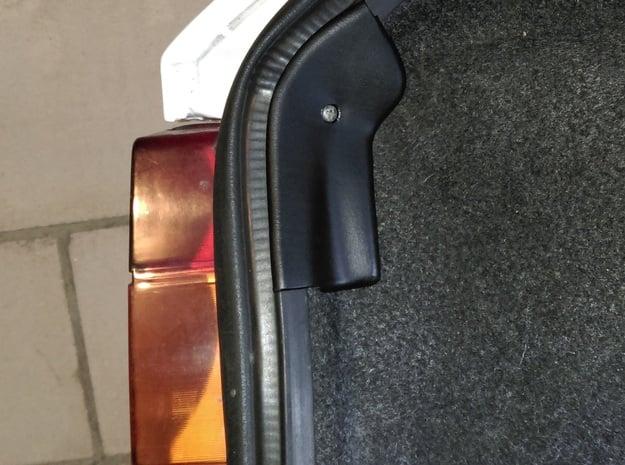 Lancia Delta Abdeckung Heckklappe Boot Plate (L) 1 in White Processed Versatile Plastic