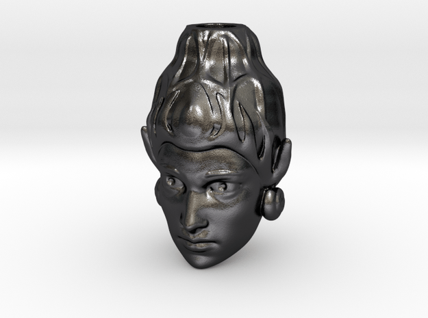 NYAI RORO KIDUL in Polished and Bronzed Black Steel