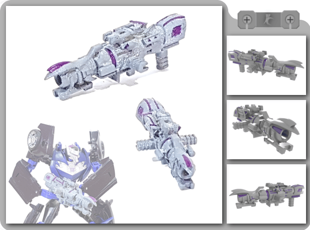 [CCC] Linearity Cannon in White Natural Versatile Plastic