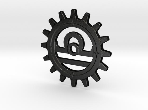 Libra Gear in Matte Black Steel