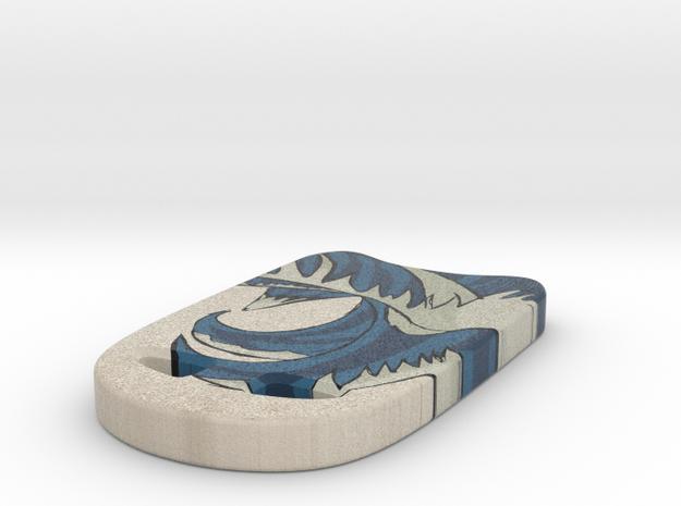 Swimming Kickboard in Full Color Sandstone