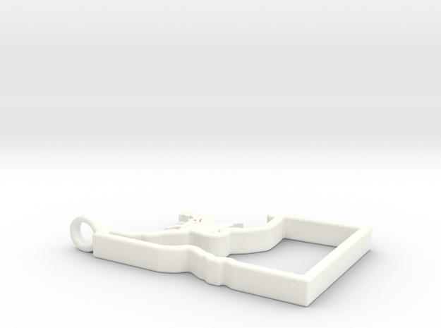 Ride Idaho Necklace in White Processed Versatile Plastic