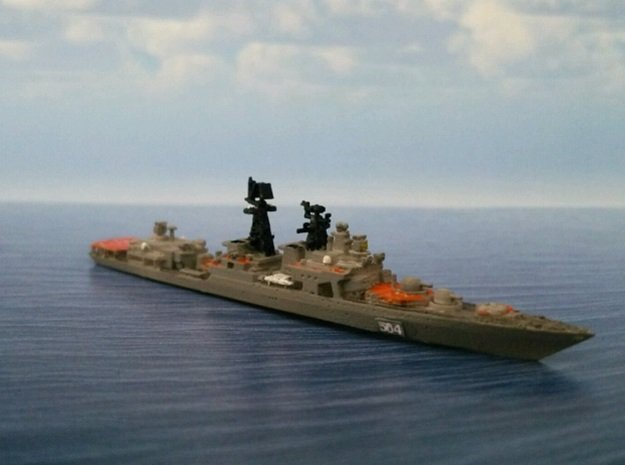 1/2000 RFS Admiral Tributs in Smooth Fine Detail Plastic