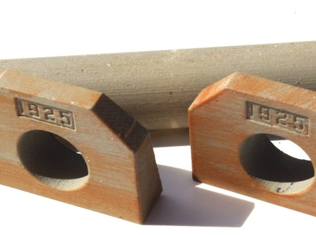 PEIR/ CNR HO Scale Concrete Single Culvert in Smooth Fine Detail Plastic