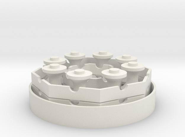 DaVinci Bearing in White Natural Versatile Plastic