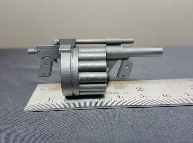 Hawk MM1 Grenade Launcher 1:10 scale in Smooth Fine Detail Plastic