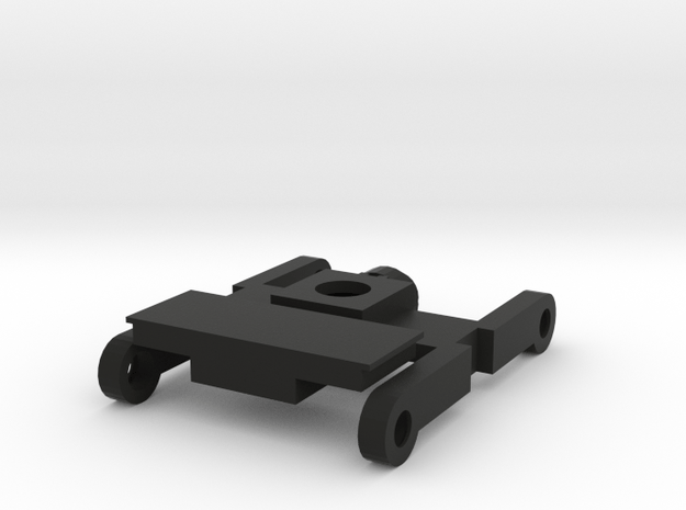 H0 Drehgestell 25,3mm in Black Natural Versatile Plastic