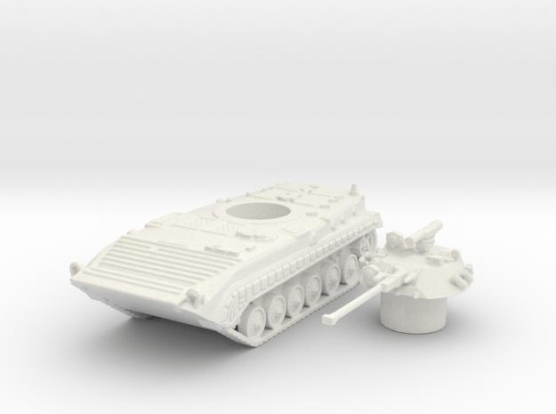 Bmp-1 tank (Russian) 1/100 in White Natural Versatile Plastic