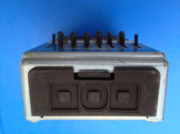 DOD Effects Pedal Battery Cover in Black Natural Versatile Plastic
