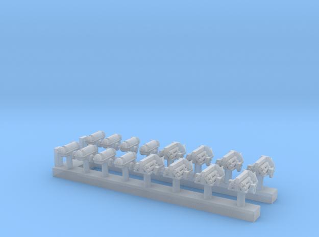 1:200 Scale USN Aircraft Nitrogen & Oxygen Carts