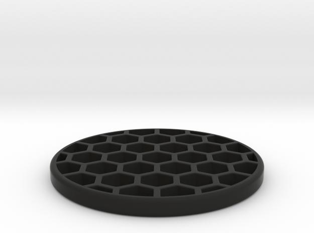 Honeycomb KillFlash 37mm Diameter 3mmHeight 1.0335 in Black Natural Versatile Plastic