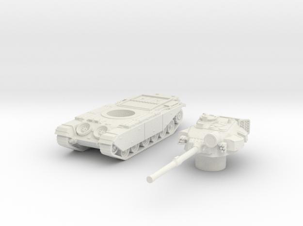 Centurion tank Late (British) 1/87 in White Natural Versatile Plastic