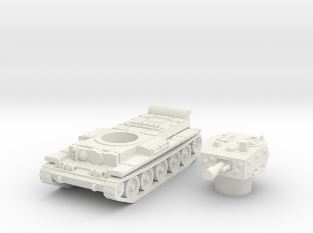 Centaur IV Tank (British) power 1/100 in White Natural Versatile Plastic