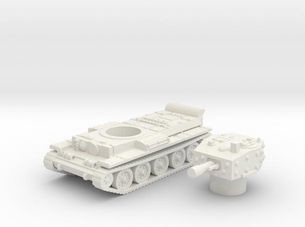 Centaur IV Tank (British) power 1/87 in White Natural Versatile Plastic