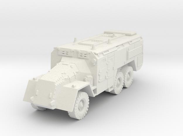 AEC Armoured Command Vehicle (British) 1/100 in White Natural Versatile Plastic