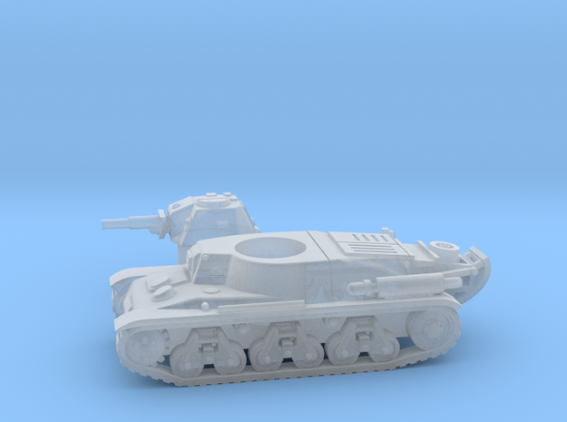 Hotchkiss tank (French) 1/200 in Smooth Fine Detail Plastic