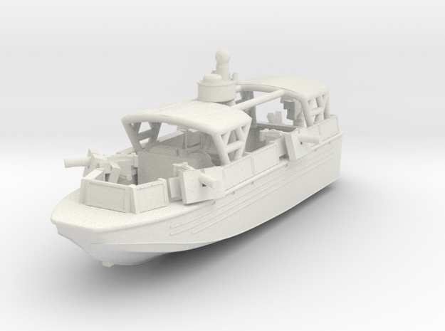 1/144 USN Riverine Assault Boat  (With Canopy and  in White Natural Versatile Plastic