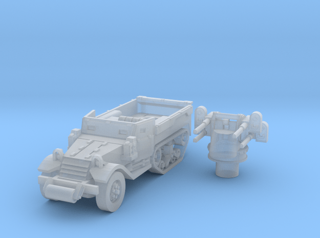 M3 Half-track roller (Usa) 1/200 in Smooth Fine Detail Plastic