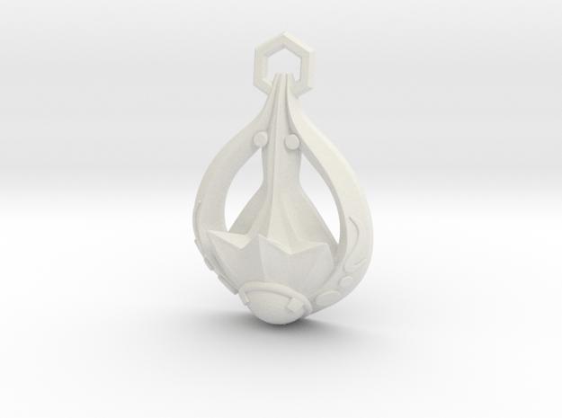 Skyrim: Amulet Of Dibella in White Natural Versatile Plastic