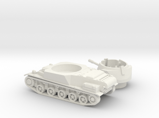 L-62 tank (Sweden) 1/100 in White Natural Versatile Plastic