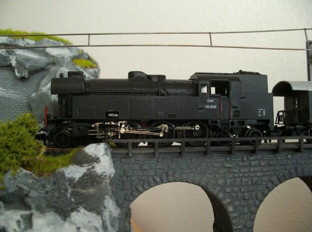 ÖBB 78, Spur-N in Smooth Fine Detail Plastic