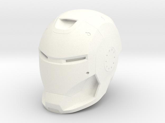 Mk 37 Ironman Hamer head 1/2 scale in White Processed Versatile Plastic
