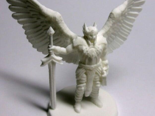 Bringer Of Justice - Small in White Natural Versatile Plastic