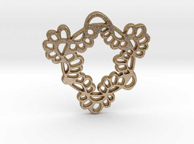 Spring Flair in Polished Gold Steel
