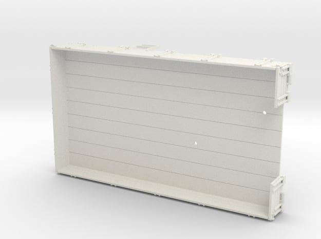 S2m-191b  Skl24 Ladefläche in White Natural Versatile Plastic