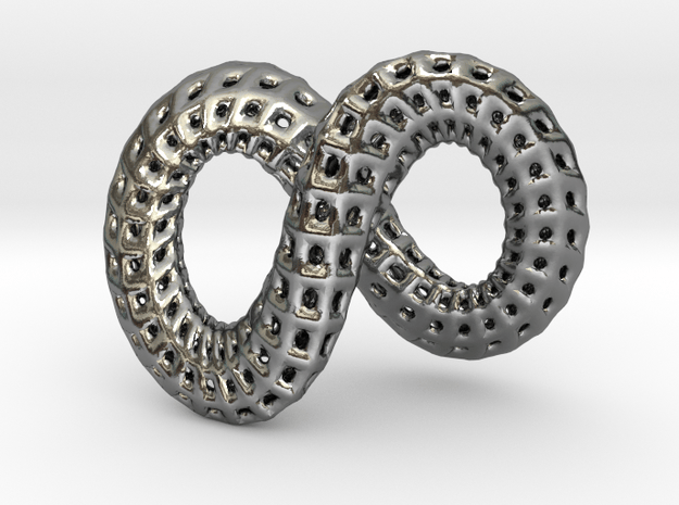 True Infinity in Polished Silver