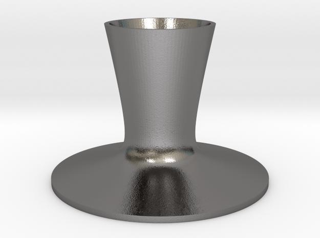 BLEND Bougeoir in Polished Nickel Steel