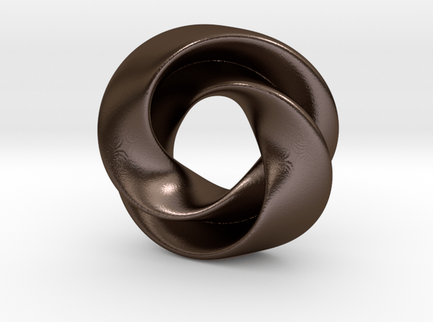 Luknot in Polished Bronze Steel