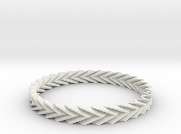 Bracelet Miura - Origami Inspired Design