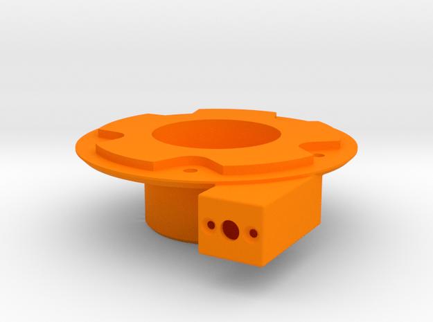 ALTES Motorgehaeuse Bruder Schneeschleuder in Orange Processed Versatile Plastic