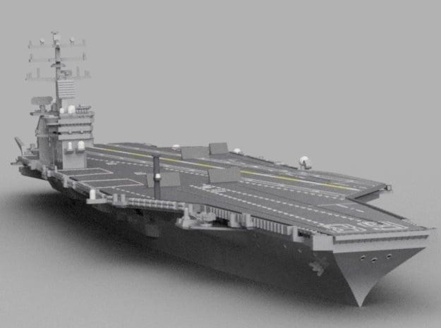 1/1800 USS Nimitz in Smooth Fine Detail Plastic