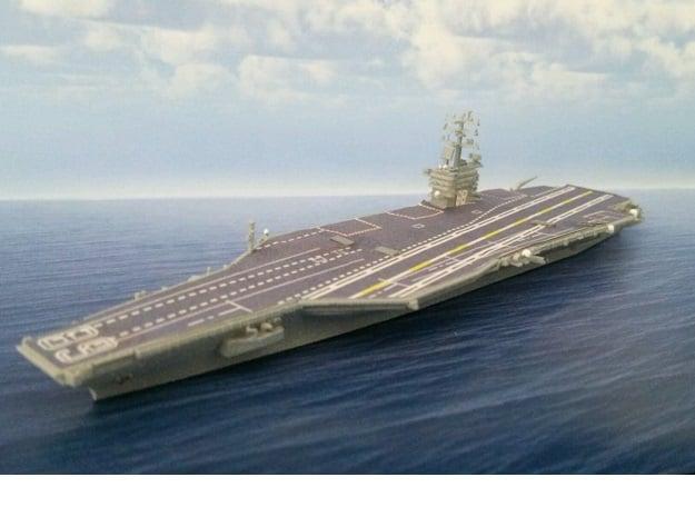 1/2000 USS Nimitz in Smooth Fine Detail Plastic