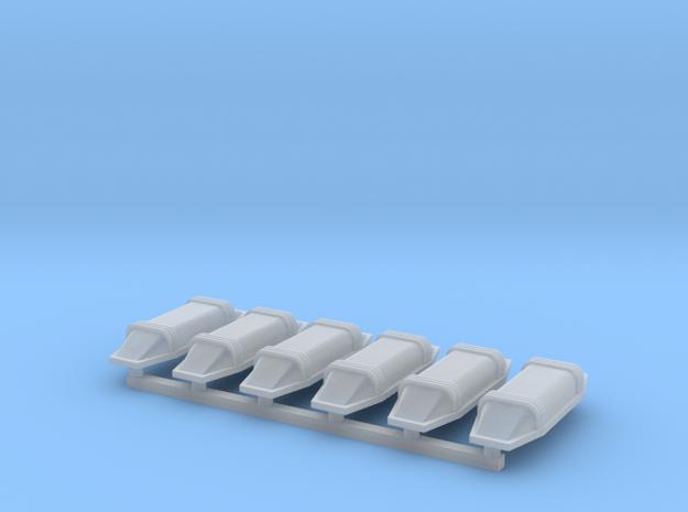 S1-715  Kuckuck-Lüfter in Smooth Fine Detail Plastic