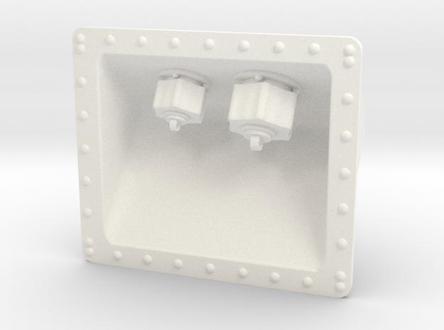 1.8 Prise Super Puma in White Processed Versatile Plastic