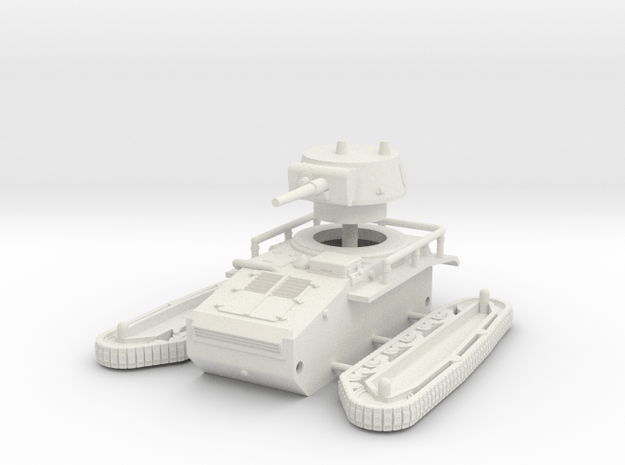 1/72 Leichttraktor Rheinmetall in White Natural Versatile Plastic