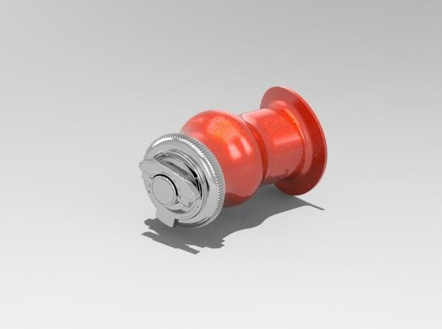1.3 BOUCHON KERO LAMA COMPLET in White Processed Versatile Plastic