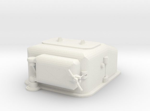 1/72 scale Type II Ammunition Lift  in White Natural Versatile Plastic