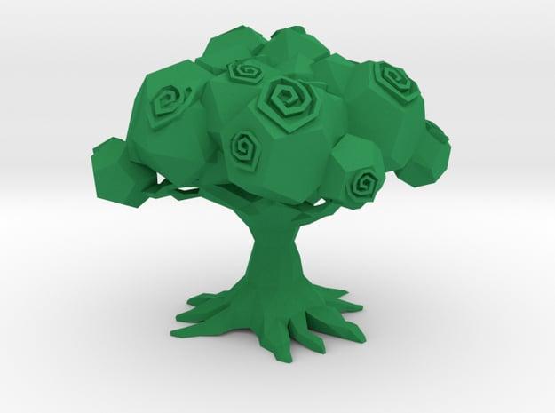 TREE OF LIFE  in Green Processed Versatile Plastic