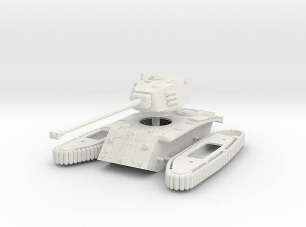 1/72 ARL 44 heavy tank in White Natural Versatile Plastic