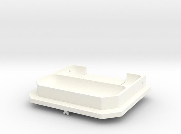 1.6 Marche Pied Small (A/2) MD900 in White Processed Versatile Plastic